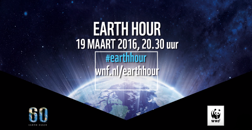 Earth Hour 2016 Doe mee
